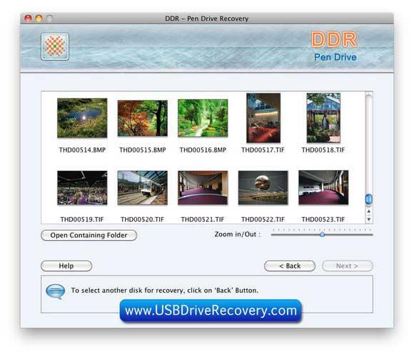 Screenshot of Mac OSX Recover